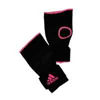 Adidas Sous Gants Noir/Rose Small