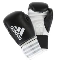 Adidas Hybrid 50 Gants de Boxe Noir/Blanc 6oz