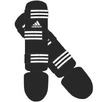 Adidas Protège Tibia Noir/Blanc Extra Large