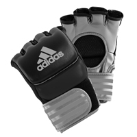 Adidas Ultimate Gants MMA Noir/Argent Large