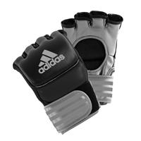 Adidas Ultimate Gants MMA Noir/Argent Medium