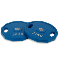 20kg Rubber Olympic Plate Set
