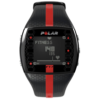 Polar FT7 Heart Rate Monitor Black Red