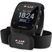 Polar M400 HR Sport Watch Black