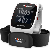 Polar M400 HR Sport Watch White