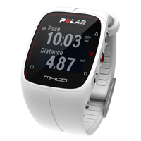 Polar M400 Sport Watch White