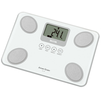 Tanita BC-731 White Compact Glass Body Composition Monitor