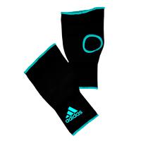 Adidas Binnenhandschoenen Zwart/Blauw Medium