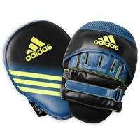 Adidas Speed Gebogen Focus Mitts / Handpads Zwart/Geel