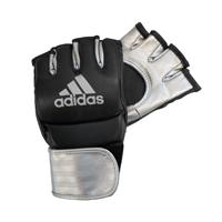 Adidas Grappling Training Handschoenen Zwart/Zilver M