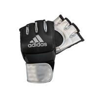 Adidas Grappling Training Handschoenen Zwart/Zilver S
