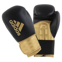 Adidas Hybrid 100 (Kick)Bokshandschoenen Zwart/Goud 14oz