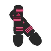 Adidas Scheenbeschermers Good Zwart/Roze Small