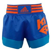 Adidas Kickboksshort Blauw Large