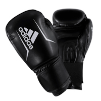Adidas Speed 50 Gants de Boxe Noir/Blanc 12oz