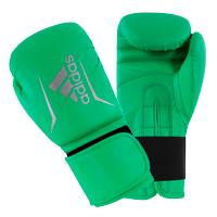Adidas Speed 50 Gants de Boxe Citron Vert/Argent 10oz