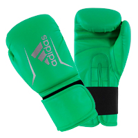 Adidas Speed 50 Gants de Boxe Citron Vert/Argent 12oz