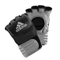 Adidas Ultimate Gants MMA Noir/Argent Small