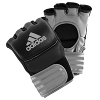 Adidas Ultimate Gants MMA Noir/Argent Extra Large
