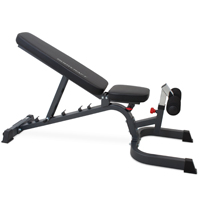 BodyCraft F602 Deluxe Banc de musculation