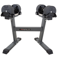 Finnlo Smartlock 2 x 20 kg set incl. rack
