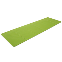 Fitness Mad Folding Exercise Mat Lime Green