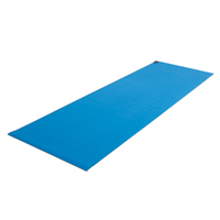 Fitness Mad Warrior Yoga Mat II 4mm Lichtblauw