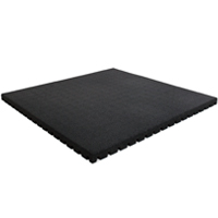 Granuflex Fitness Tile Weight Lift 43mm Black