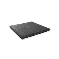 Granuflex Home Fitness Kettlebell 43mm Vloertegel Zwart