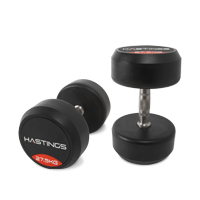 Hastings 27.5 kg Professional Dumbbell Set