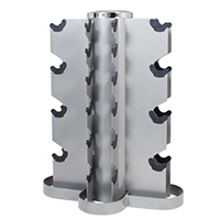 Hastings DR-04 Vertical 2-20kg Dumbbell Rack de rangement 10 sets
