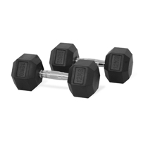 Hastings Hex Dumbbell 12kg Set