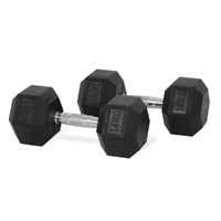Hastings Hex Dumbbell 14 kg Set