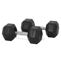 Hastings Hex Dumbbell 16kg Set