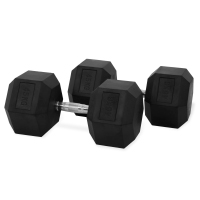 Hastings Haltères Hexagone 45kg Set