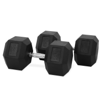 Hastings Haltères Hexagone 50 kg Set