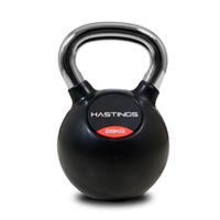 Hastings Chrome Kettlebell Professionale 28 kg