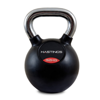Hastings Chrome Kettlebell Professionale 32 kg