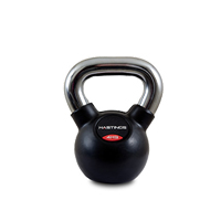 Hastings Chrome Kettlebell Professionale 4 kg