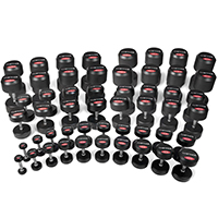 Hastings 2.5-60kg Professional Dumbbells