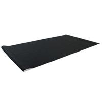 Helisports vloermat zwart 180x100cm