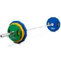 Kroon OP-110 Pro Gummi beschichtetes Olympic Plate Set