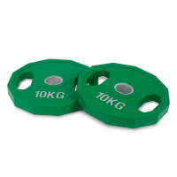 10 kg Rubber Olympic Plate Set