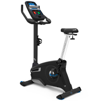 Nautilus U626 Upright Bike Black Series - with RideSocial
