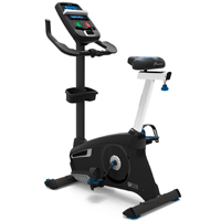 Nautilus U628 Upright Bike Black