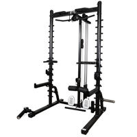 Newton Fitness Black Series BLK-250 Half Rack