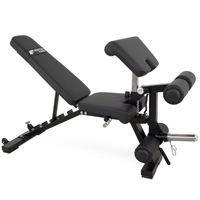 Newton Fitness Black Series BLK-40 Banc Multifonctionnel Réglable