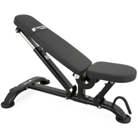 Newton Fitness Black Series BLK-50 Heavy Duty Club Banco Comercial