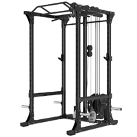 Newton Fitness Black Series BLK-750 Power Rack