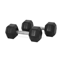 Newton Fitness Haltères Hexagone 10 kg Set